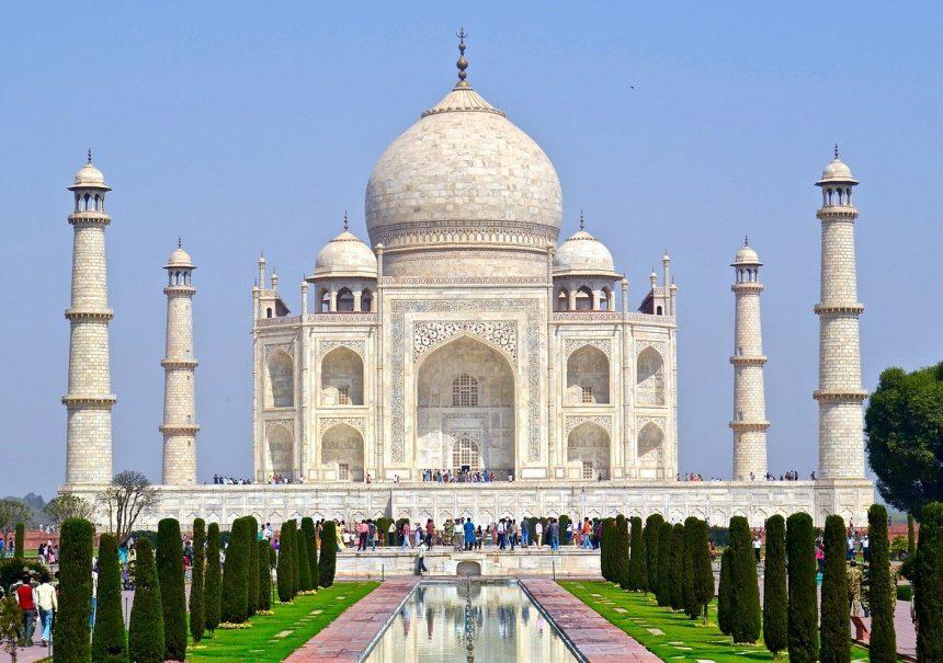Taj Mahal India Agra Islamic Marble Tomb